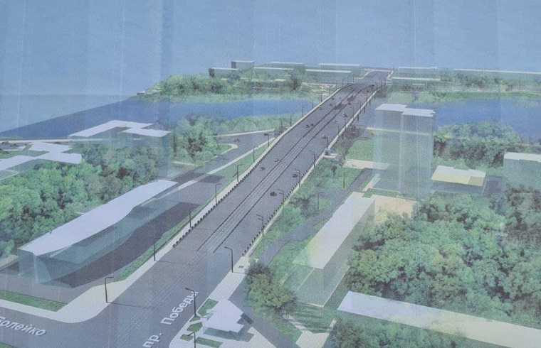 Ленинградский мост в Челябинске откроют раньше срока. Скрин