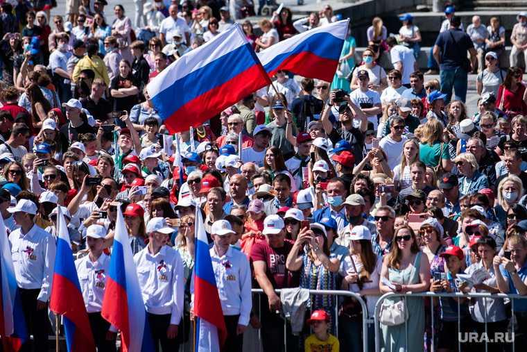 Певческий праздник «Хором славим Россию и город» в Историческом сквере. Екатеринбург