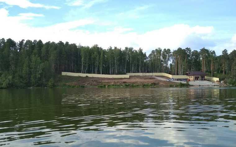 В Челябинской области возбудили дело о вырубках для яхт-клуба. Фото