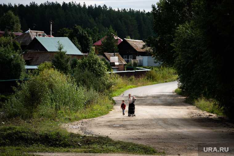 заброшенная деревня туристическое место